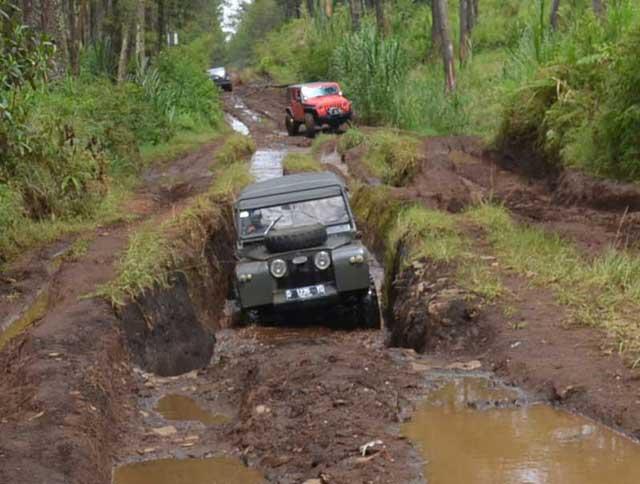 Jalur Offroad Bandung Lembang Sangat Menantang Adrenalin