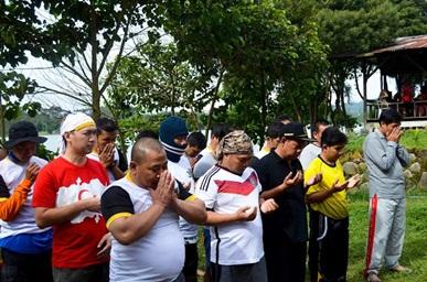 Ketika Rombongan Wabup Kabupaten Bandung Menikmati Wisata Arung Jeram Bandung (1):  Elhaqi Advanture, Mantap!