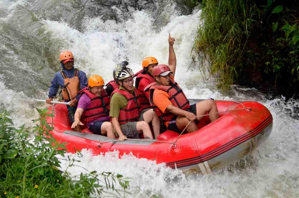 Asyiknya Petualangan Rafting Bandung Pangalengan PT Madia Kreasi
