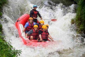 rafting daerah Pangalengan