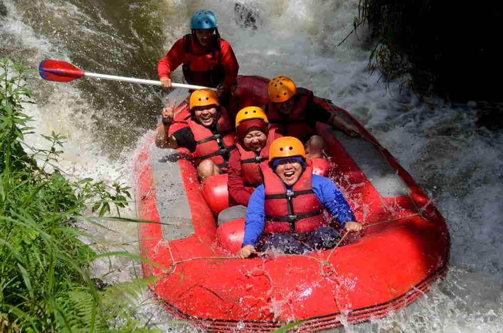 tempat rafting Pangalengan